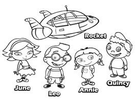 disney junior print and colour little einsteins - Disney Jr Coloring Pages Print