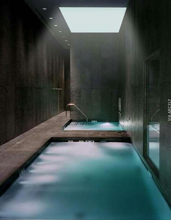 Pin By Reem On Spa Design Indoor Swimming Pool Design Indoor