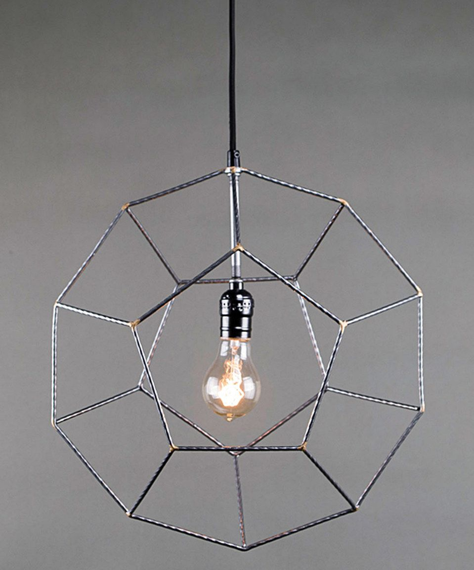 Love this Wire Crystalline Pendant Light by Foreside on #zulily! #zulilyfinds