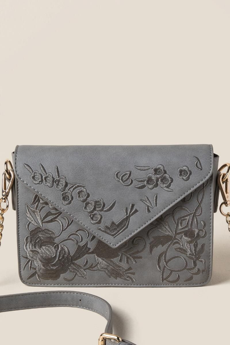 Tess Embroidered Clutch Crossbody  b775415d189a1