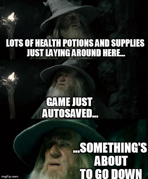 LOTS OF HEALTH POTIONS AND SUPPLIES JUST