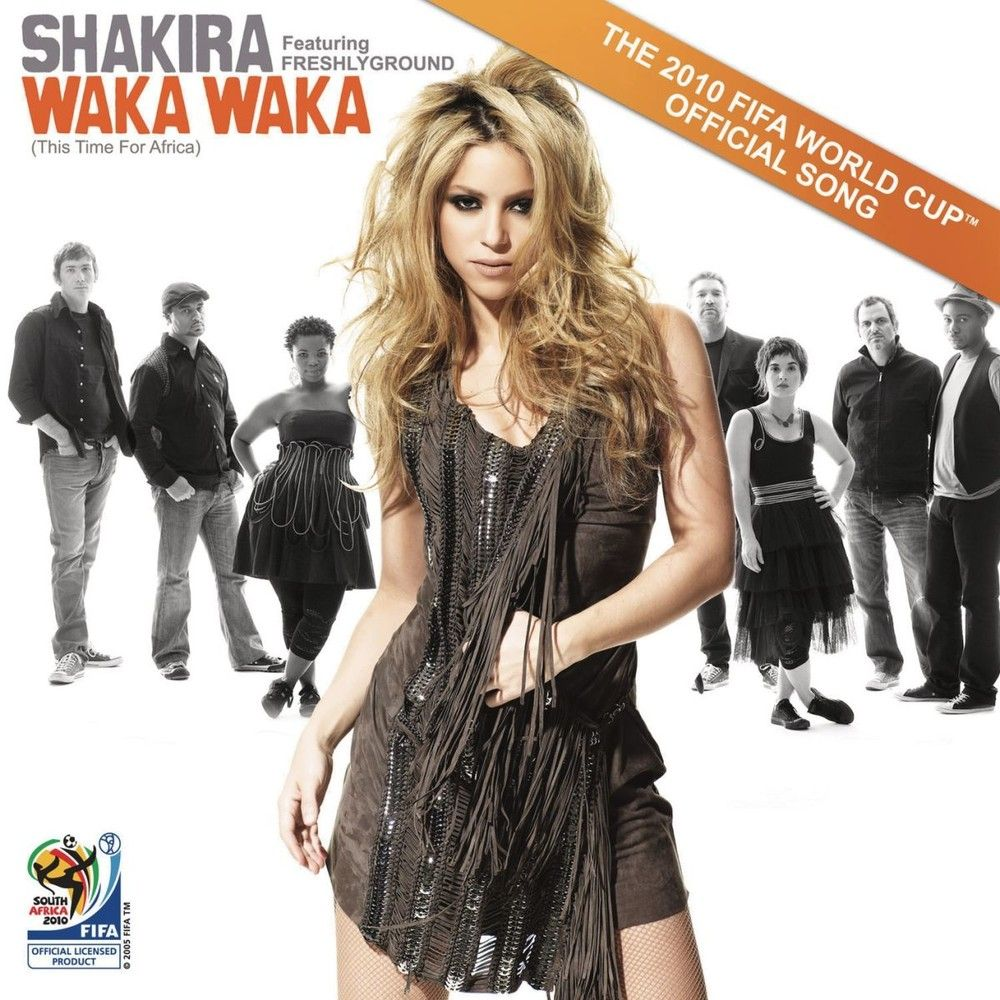 Shakira Album Waka Waka This Time For Africa The Official 2010 Fifa World Cup Tm Song Waka Waka Shakira Time For Africa
