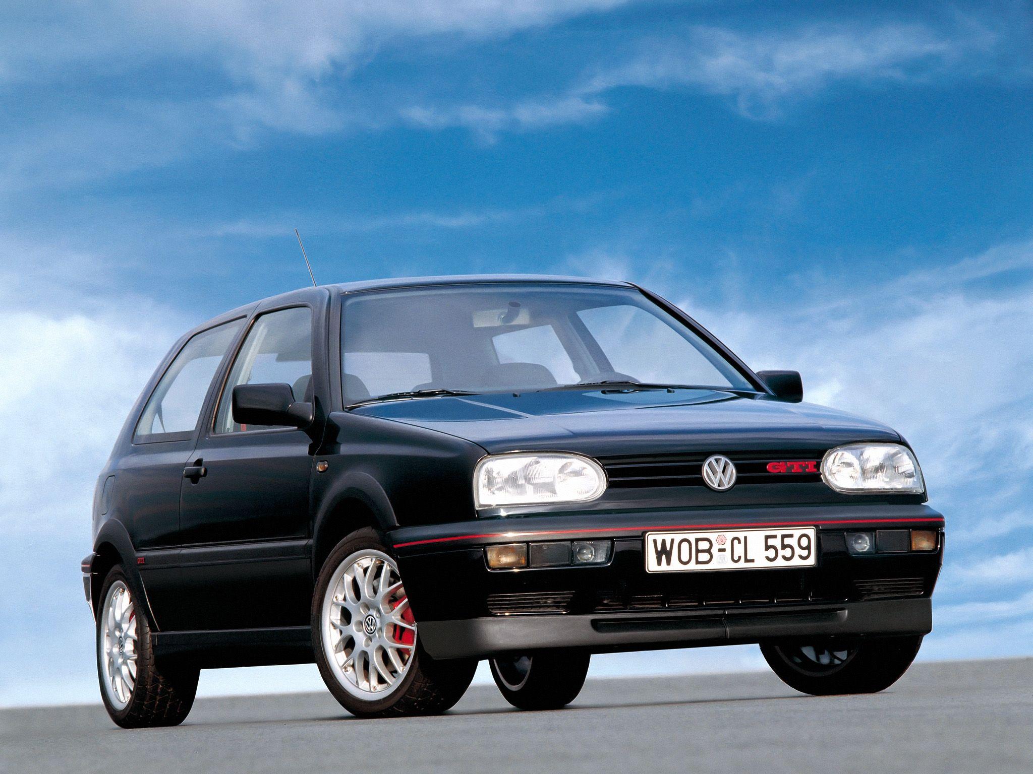 Volkswagen Golf Gti 20 Jahre Typ 1h 1996 Volkswagen Golf Gti Volkswagen Golf Gti