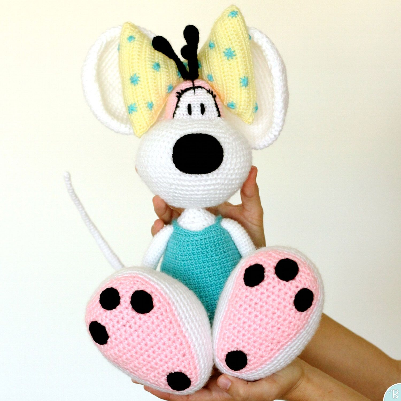 PATTERN: Diddlina amigurumi crochet pattern by BuddyRumi on Etsy ...