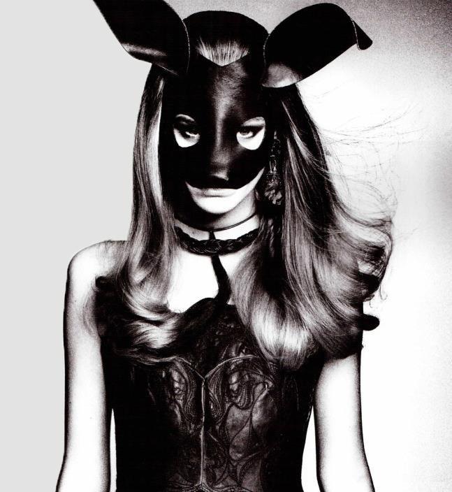 Rabbit mask - Maison Kiss Kiss