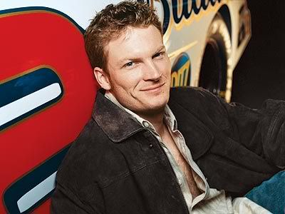 Dale Earnhardt Jr [this was a cover from Corvette magazine in 2006]