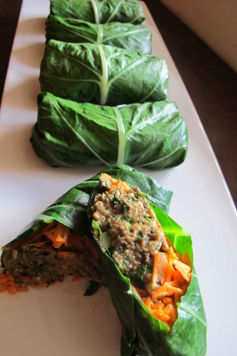 how to use collard greens as a wrap