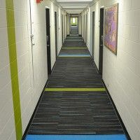 Room Corridors Carpet Tile And Paint
