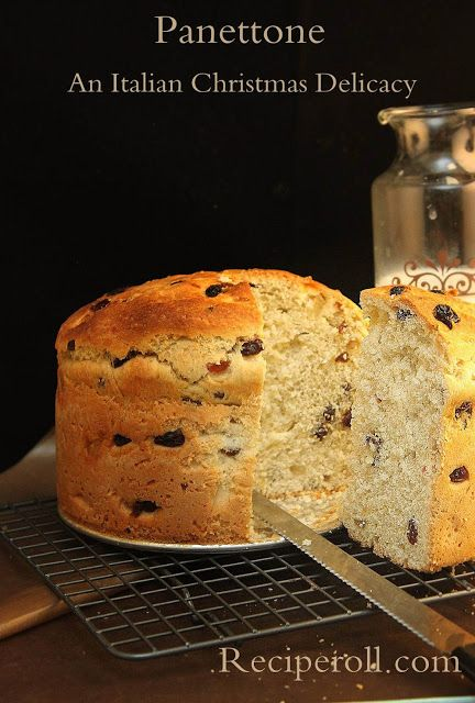 Panettone - An Italian Christmas Delicacy    Ingredients   1 cup warm water  2 packages dry yeast  1 cup flour  1/2 cup butter  1/...
