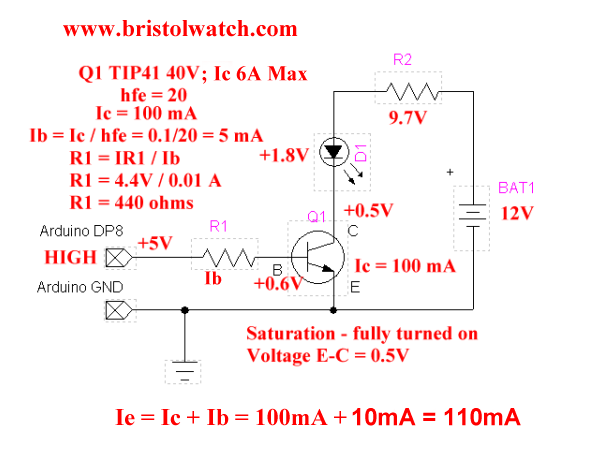 Tremendous Tip41 Npn Transistor Switch Transistor Knowledge Biasing Wiring Database Mangnorabwedabyuccorg