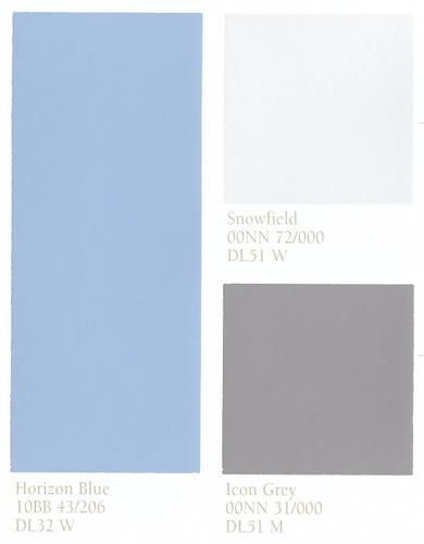Blue And Neutral Color Schemes Blue Wall Paint For Modern Kitchen
