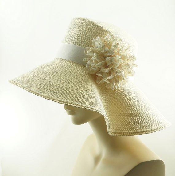9c861daad0f0d8 Womens Straw Hat, Wedding Hat, Sun Hat for Women, Wide Brim Hat ...