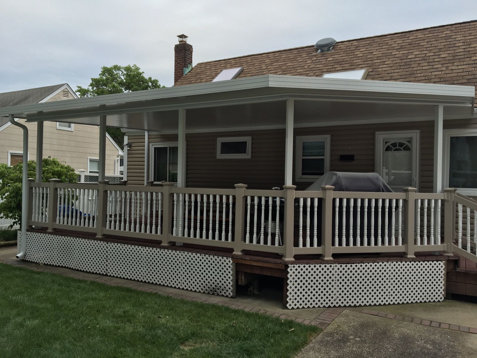 Our Patio Covers are a modern look to the traditional ...