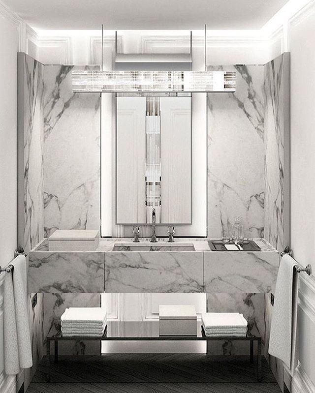 Bathroom At The Baccarat Hotel New York!