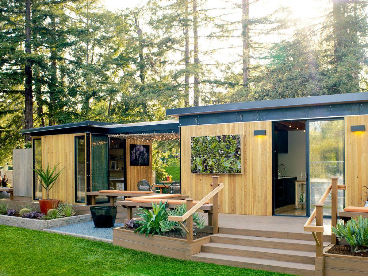 tiny backyard home office. Meet Our California Prefab Home Tiny Backyard Office