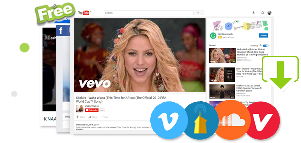 Free Shakira World Cup Songs Downloader World Cup Song Shakira World Cup