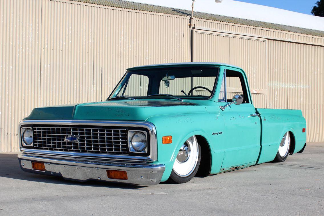 Truck 71 chevy truck parts : Medium Green 71 Chevy C10 | 1967 - 1972 Chevy Trucks | Pinterest ...