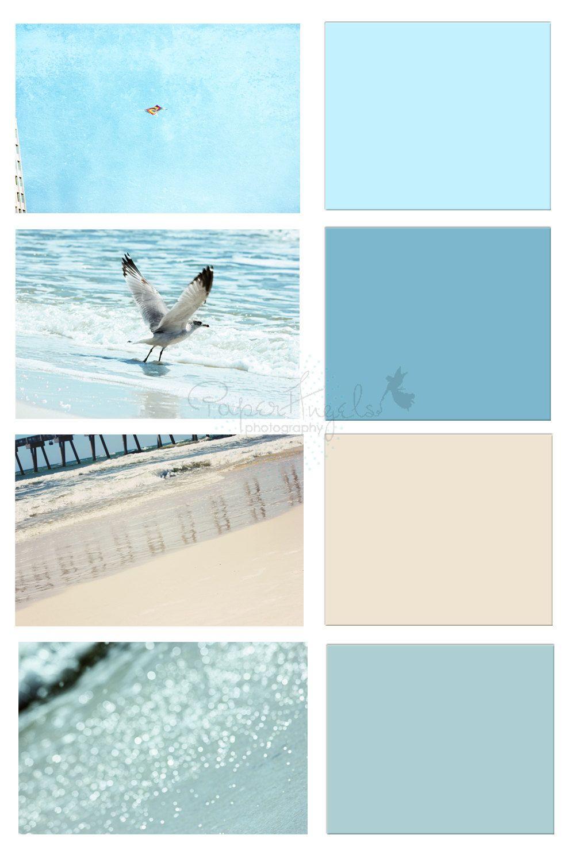 Seashore Color Palettes