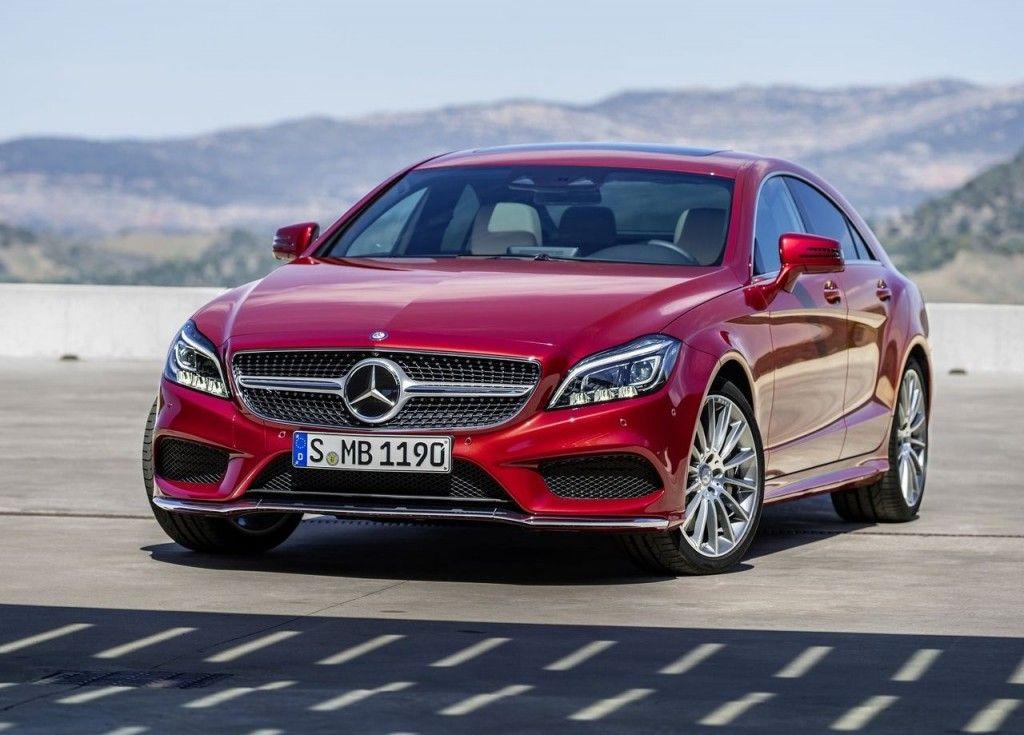 2015 Mercedes Benz Cls Class Red Front View Car Wallpaper Hd