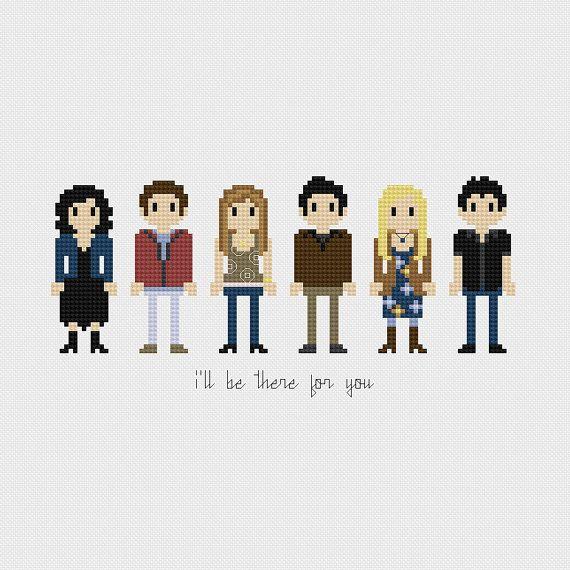 Friends (Monica, Chandler, Rachel, Ross, Phoebe, Joey
