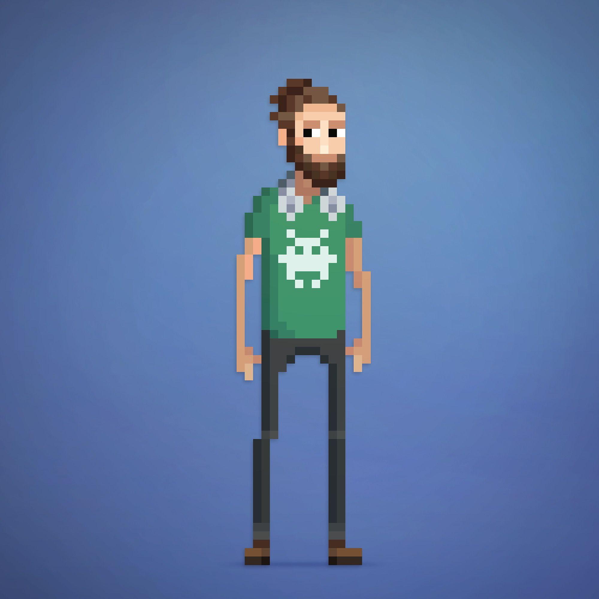 Pixel Art Modern