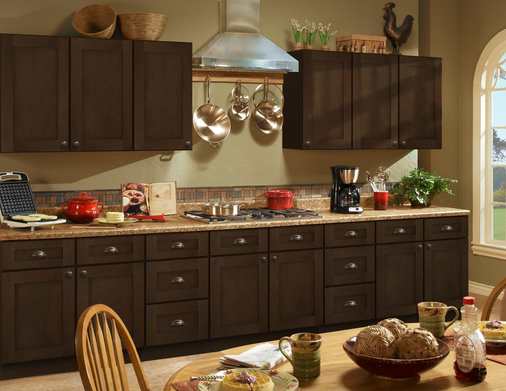 Expresso Stained Kitchen Cabinets Kitchen Collection Classy Kitchen Kitchen Cabinets