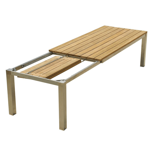 Royal Double Extension Table 240 Outdoor Wicker Furniture