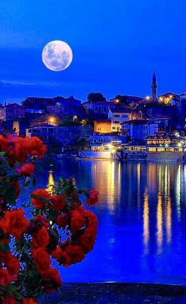 Bartin Beautiful Moon Good Night Moon Moonscape