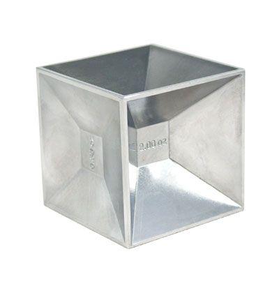 Empty Cube Jigger