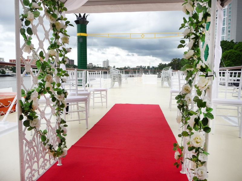 Brisbane wedding venue wedding venues boat wedding