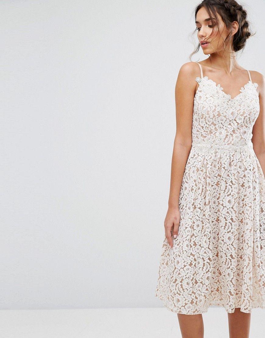 Little Mistress Allover Lace Skater Dress White Lace White Dress Fashion Maxi Dress Prom [ 1110 x 870 Pixel ]