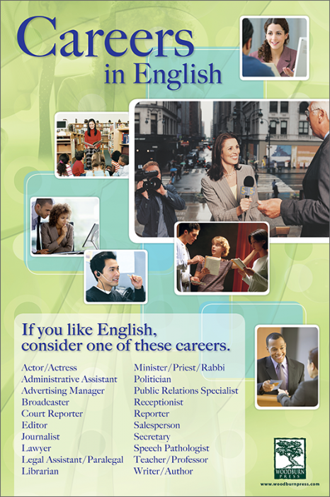 Careers In English Career Counseling List Of Careers Career Exploration
