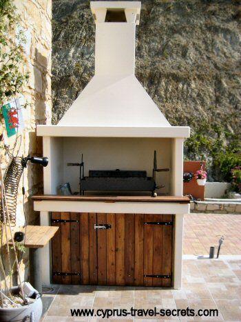 Build a BBQ | front/back garden | Pinterest | Concrete, Garden and ...