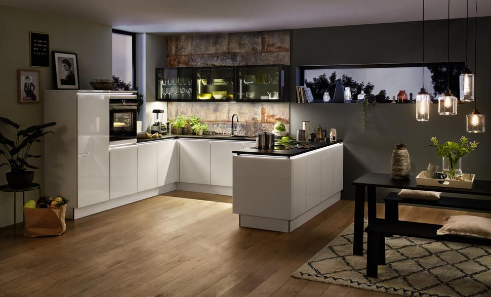 Nolte Glas Tec Plus Nolte Kitchens Pinterest Kitchen Open