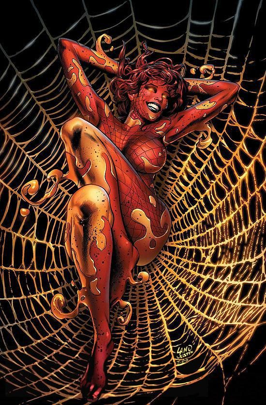 girl Marvel nude spider