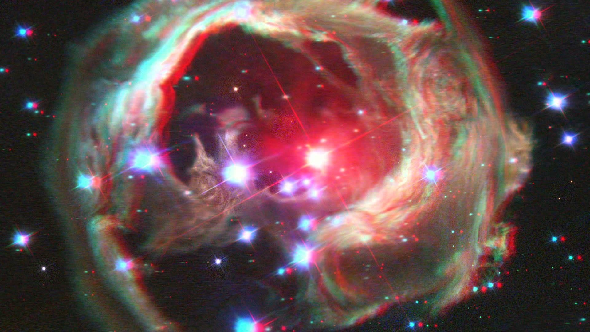 анаглиф картинки космос занятия