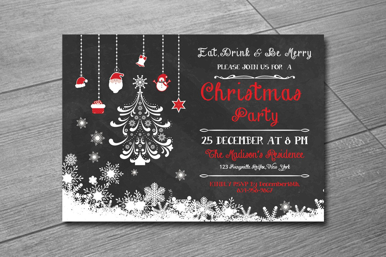 Excited to share the latest addition to my etsy shop christmas excited to share the latest addition to my etsy shop christmas invitation template stopboris Gallery