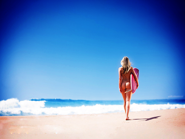 Naked girls at the beach pics tumblr Pin On Beach Butts