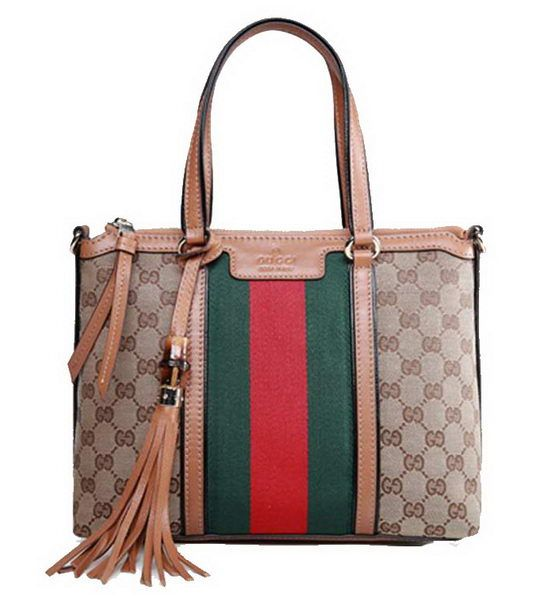 dc4c6e2aa Gucci Rania Original GG Canvas Top Handle Bag 353114 Apricot - $209.00