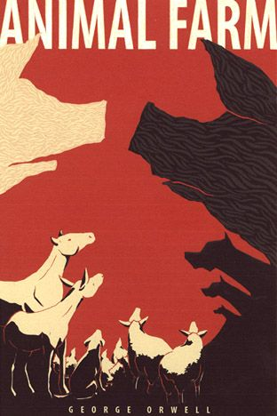 Animal Farm Cover By Hanerethund Animal Farm Book Book Cover Illustration Penguin Books Covers