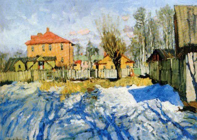 Konstantin Gorbatov Ранняя весна