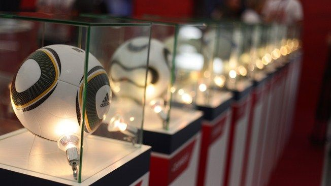World Cup 2018 Russia Exhibition was arranged by the LOC that represented the history of Russia Football and its progress.