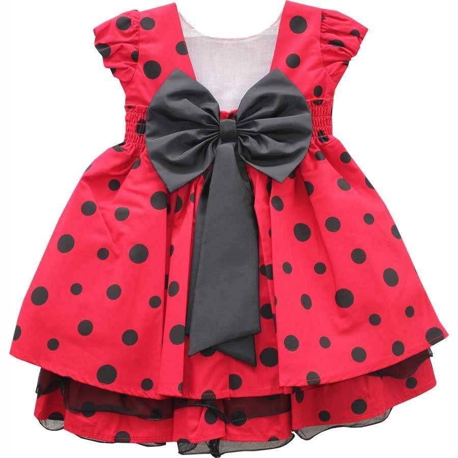 Vestido de Festa Infantil - Estilo Festa Disney Minnie por: R$ 129 ...