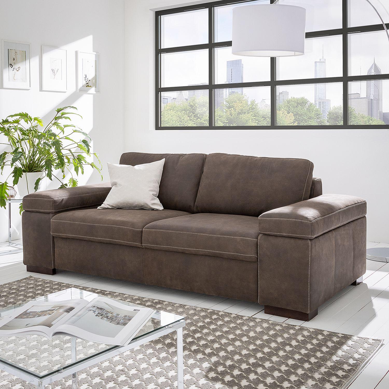 Entdecke Schone Sofas Und Couches Wie Zum Beispiel Ars Natura Sofa Maine 2 Sitzer Mokka Echtleder 216x80x99 Cm Von Der Marke In 2020 Sofa Couch Mobel Sofa Leder Braun