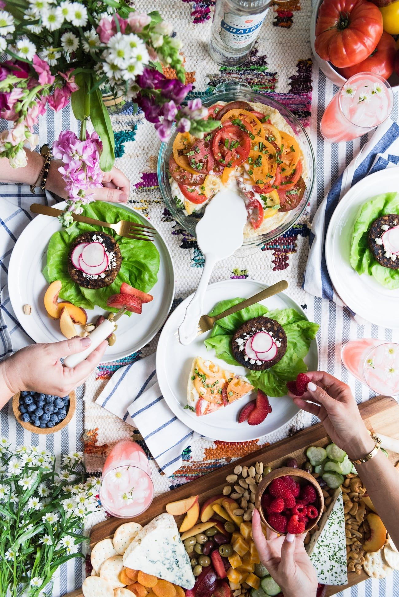 the golden days of summer a csa inspired farm to table dinner party rh pinterest com