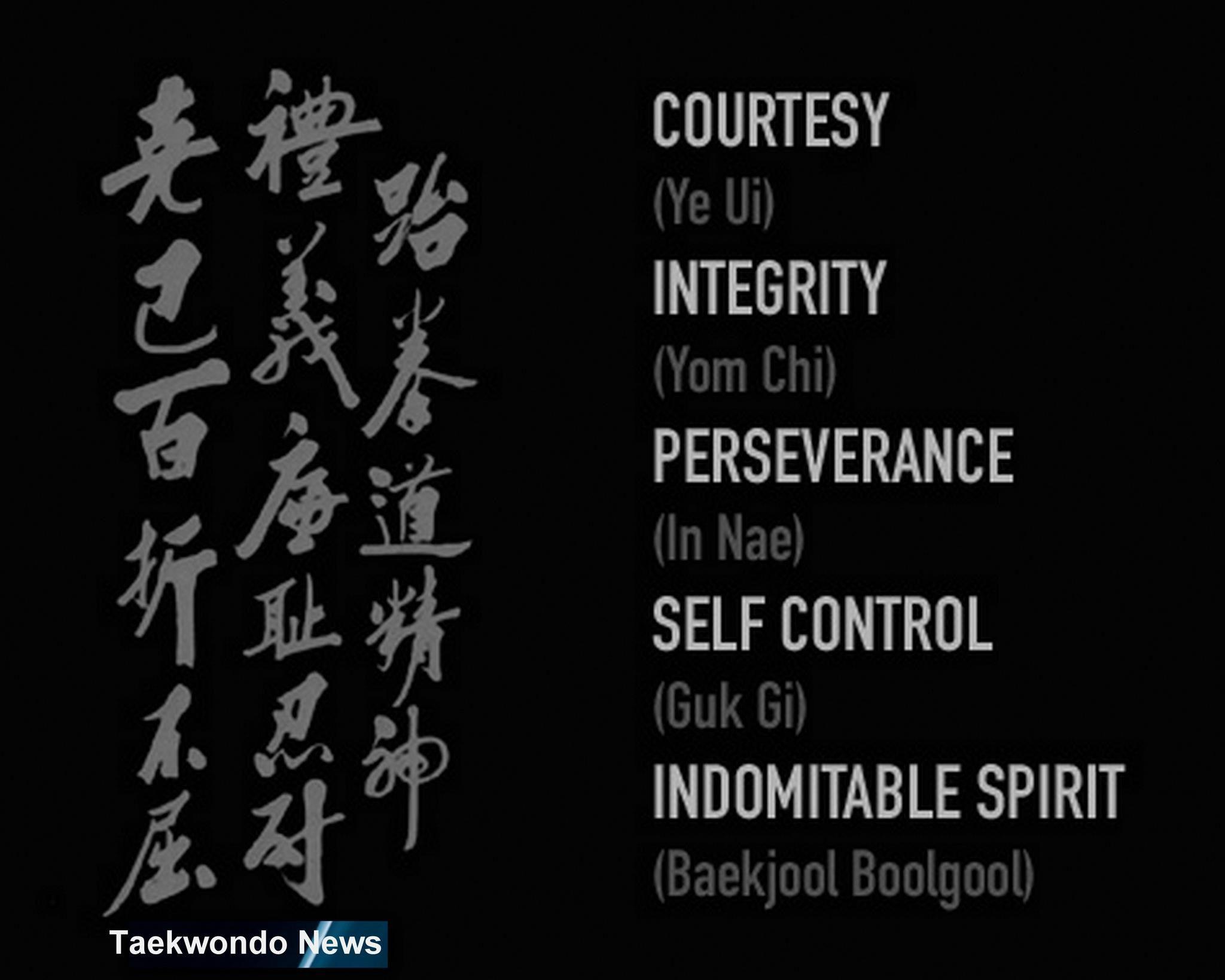 Taekwondo Quotes Tenets Of Taekwondo  Martial Arts  Pinterest  Martial And