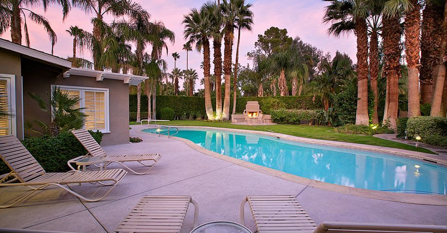Dinah Shore's Movie Colony Estate in Palm Springs