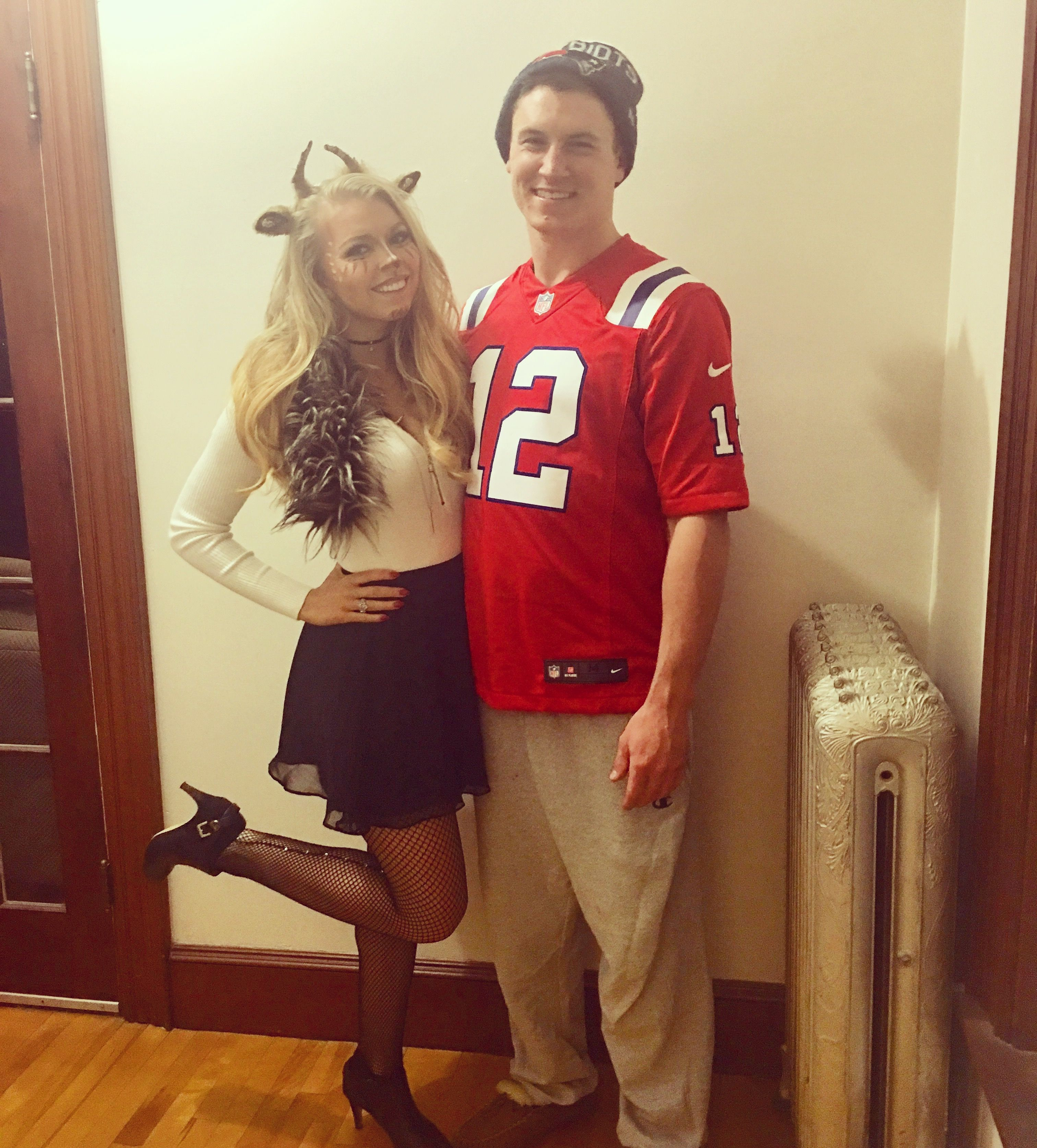 Tom Brady the G.O.A.T. ( Greatest Of All Time ) couples Halloween costume  sc 1 st  Pinterest & Tom Brady the G.O.A.T. ( Greatest Of All Time ) couples Halloween ...
