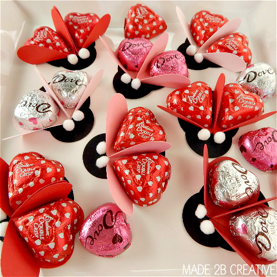 Ladybug Valentine Craft Idea: Valentineu0027s Party Favors