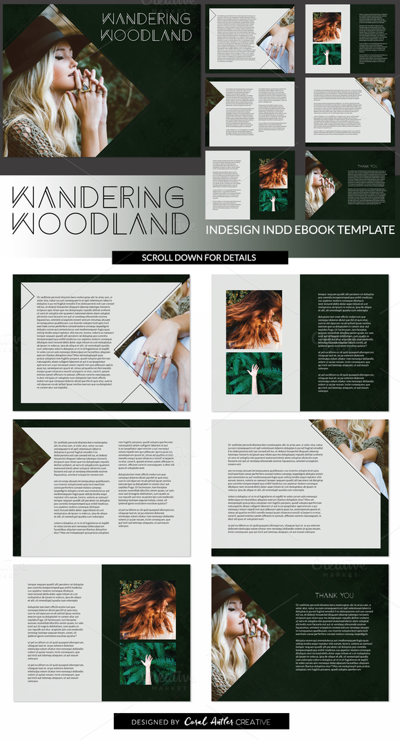 E-book Template 3 | Template, Graphics and Brochures